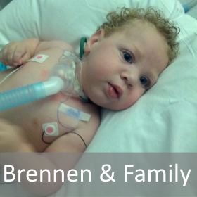 Brennen & Famly Hope Delivered