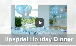 Holiday Dinner at Joe DiMaggio Children's Hospital