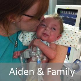 Aiden & Family Hope Delivered