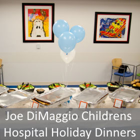 Joe DiMaggio Childrens Hospital Holiday Dinner